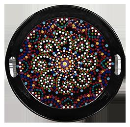 Lehigh Valley Mosaic Mandala Tray