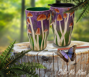 Lehigh Valley Mushroom Mugs